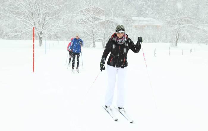 Kaiserwinkl-Skifahrerin