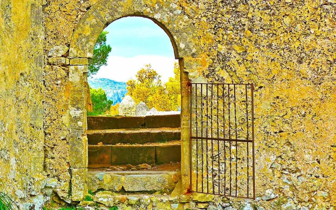 Ruinen auf Mallorca, ein beliebtes Wanderziel