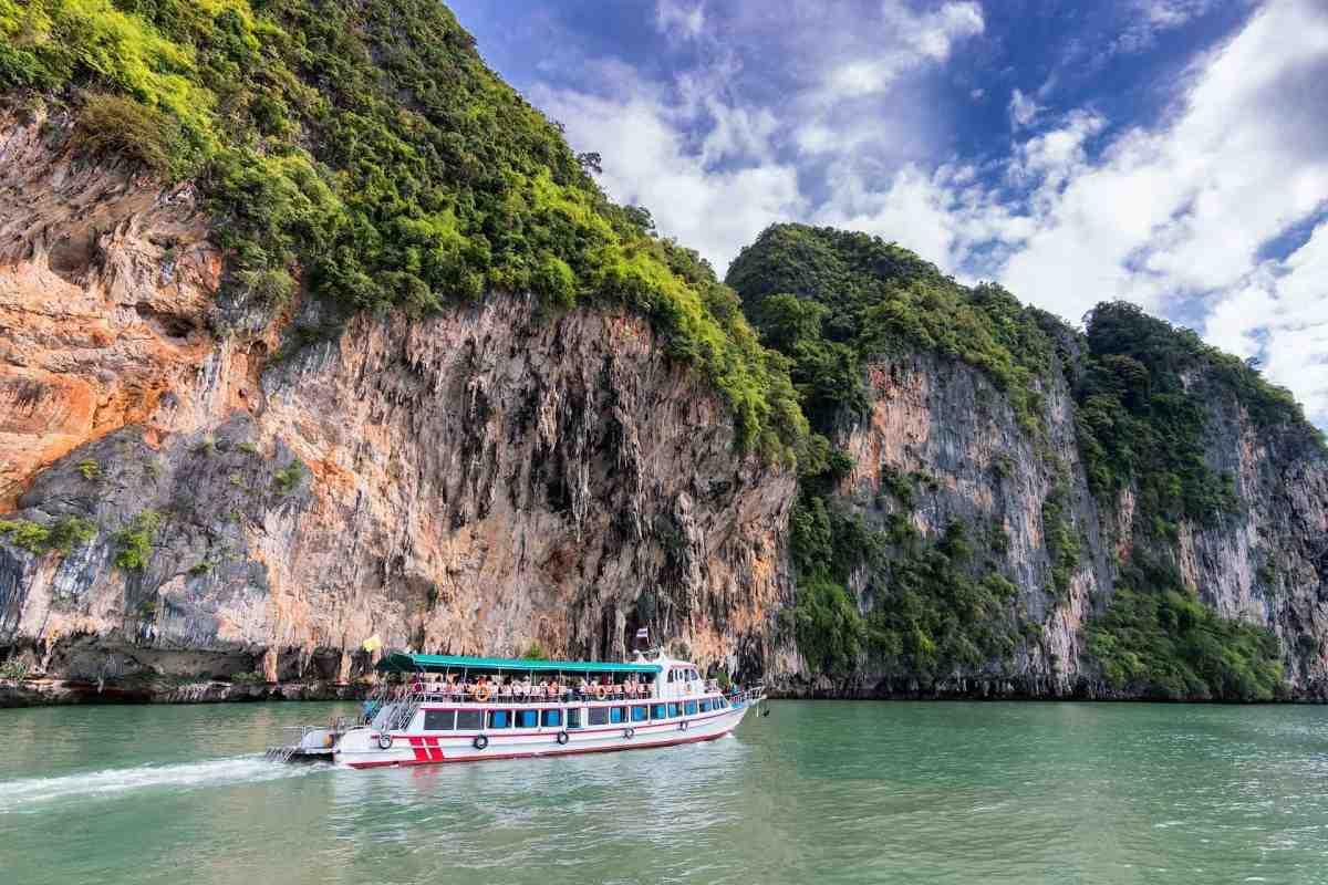 Ausflugsboot in Thailand