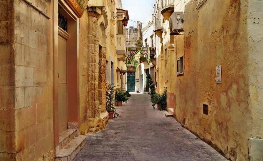 Gassen von Valetta, Malta