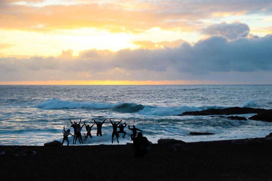 Fuerteventura, Ajuy, Sonnenuntergang