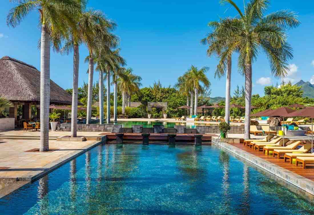 Sport-Pool im Four Seasons Mauritius