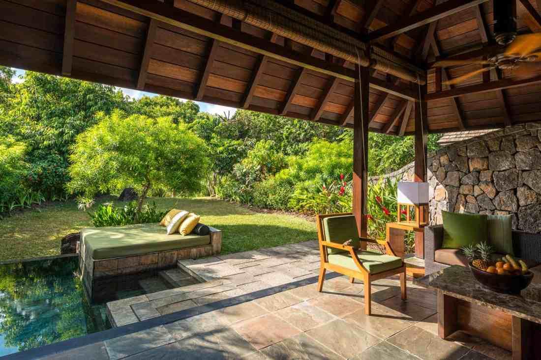 Garden Pool Villa Four Seasons Mauritius at Anahita
