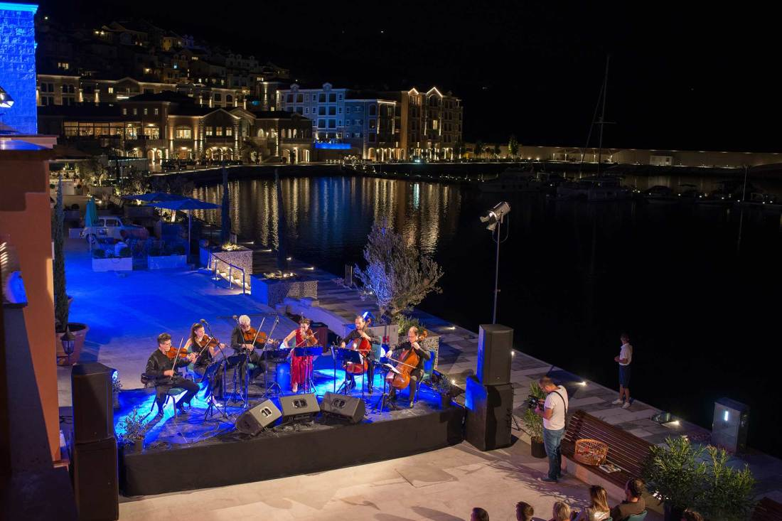 The Chedi Lustica Bay Opening Event