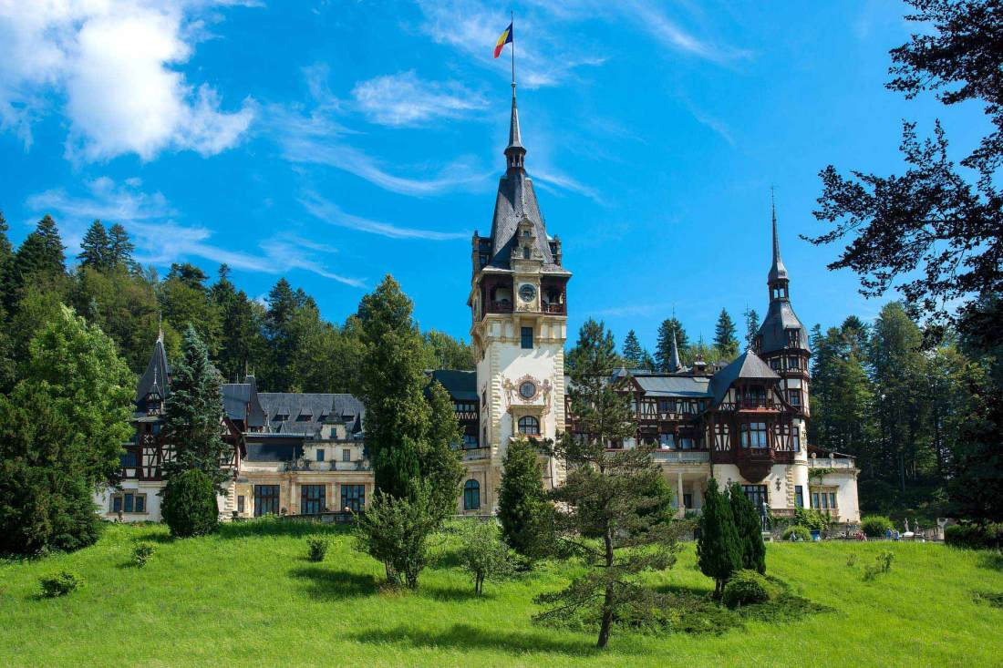 Schloss Peles in Rumänien
