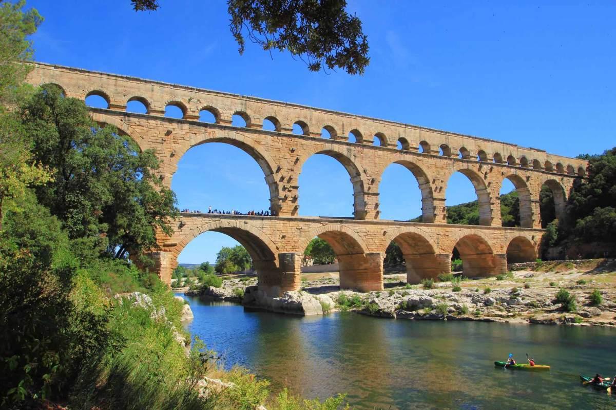 Pont du Gard- Brücke