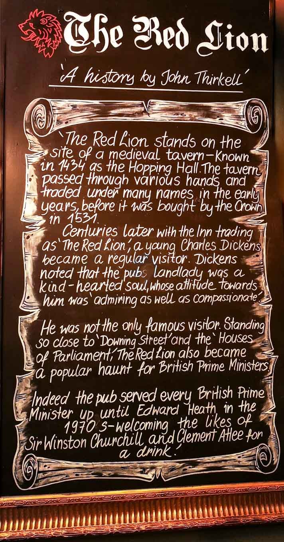 The Red Lion Pub, London