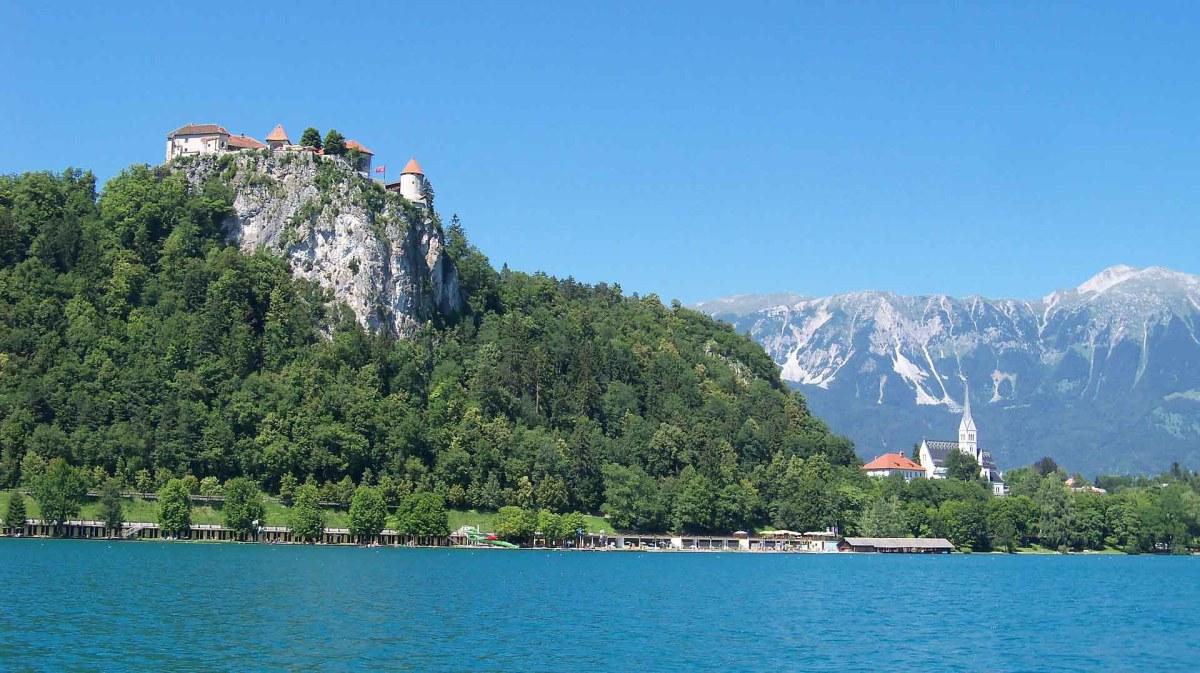 Slowenien - Die Burg von Bled