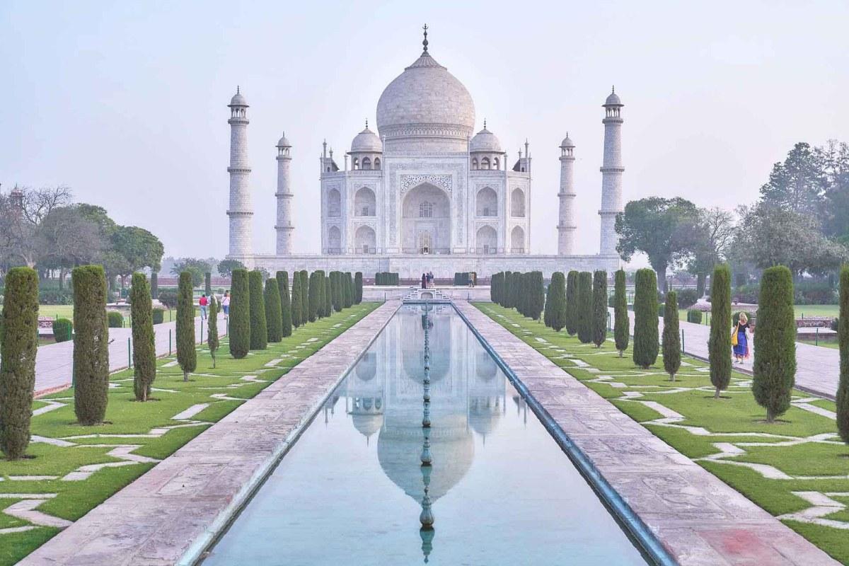 Moschee vom Taj Mahal