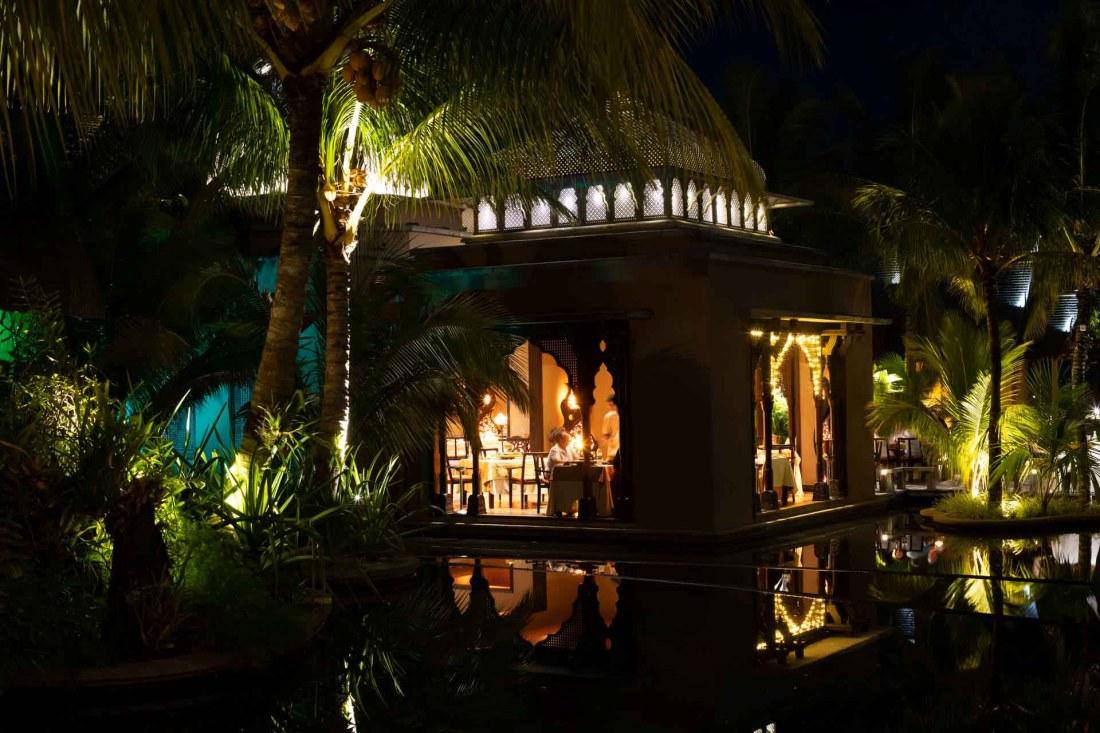 Indisches Restaurant im Beachcomber Resort Trou aux Biches