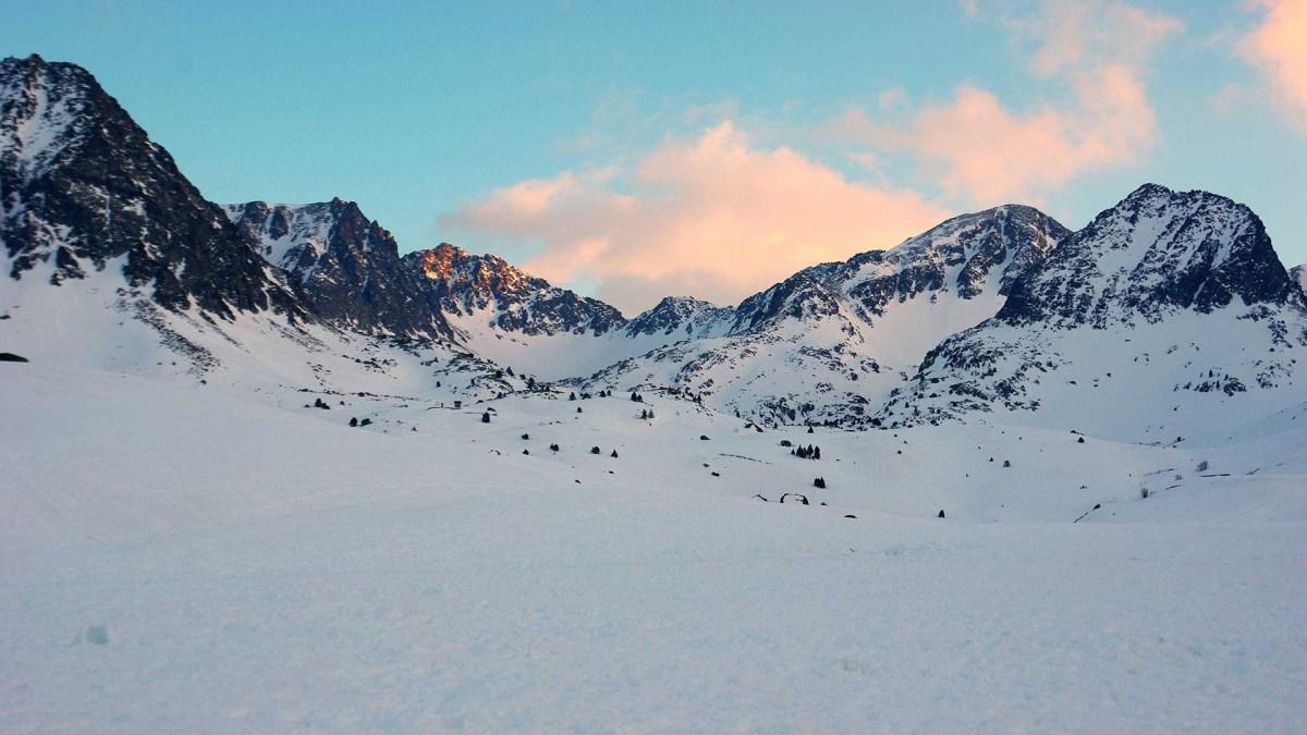 Andorra Bergpanorama