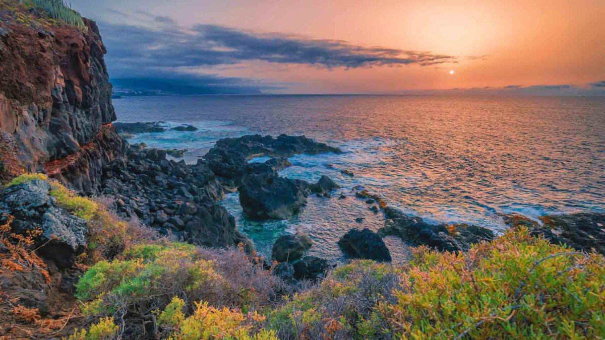 Küste von Teneriffa