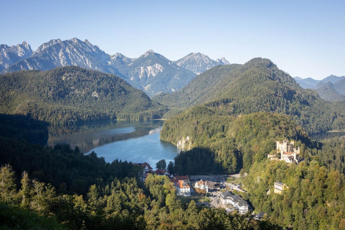 Neuschwanstein und Alpsee Region