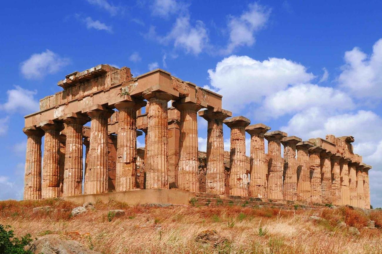 Griechischer Tempel in Agrigento