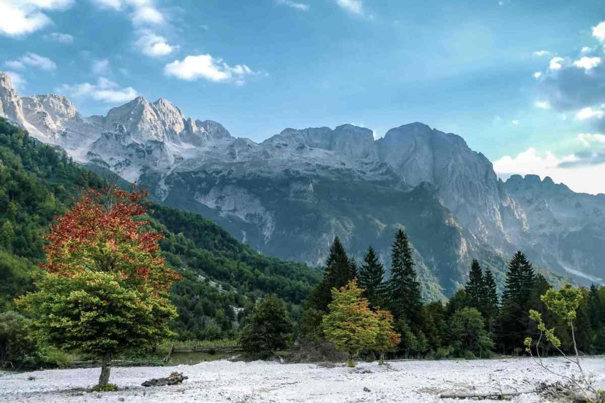 Teth Nationalpark, Berge und Wälder Albanien