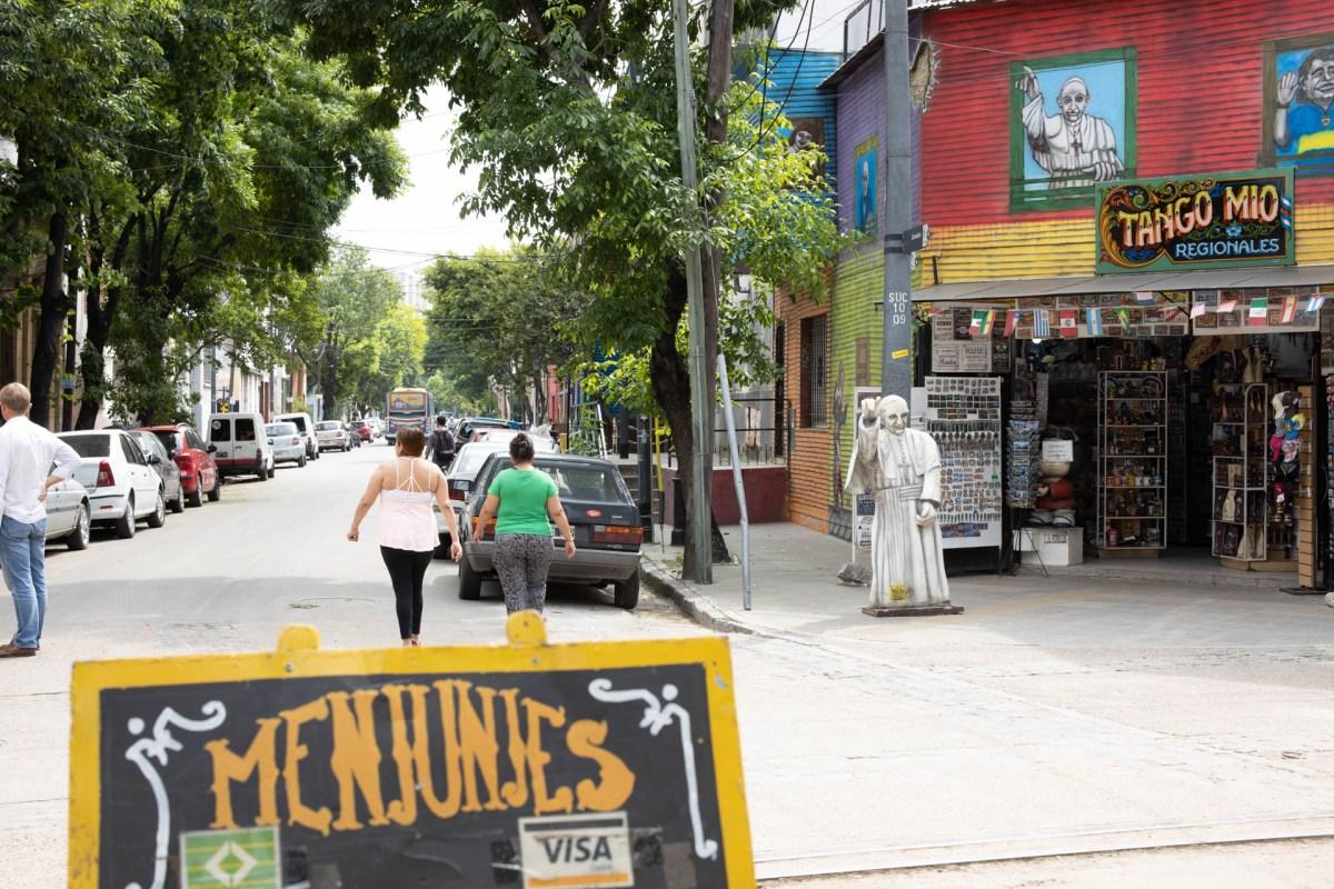 Öffentlicher Platz Buenos Aires