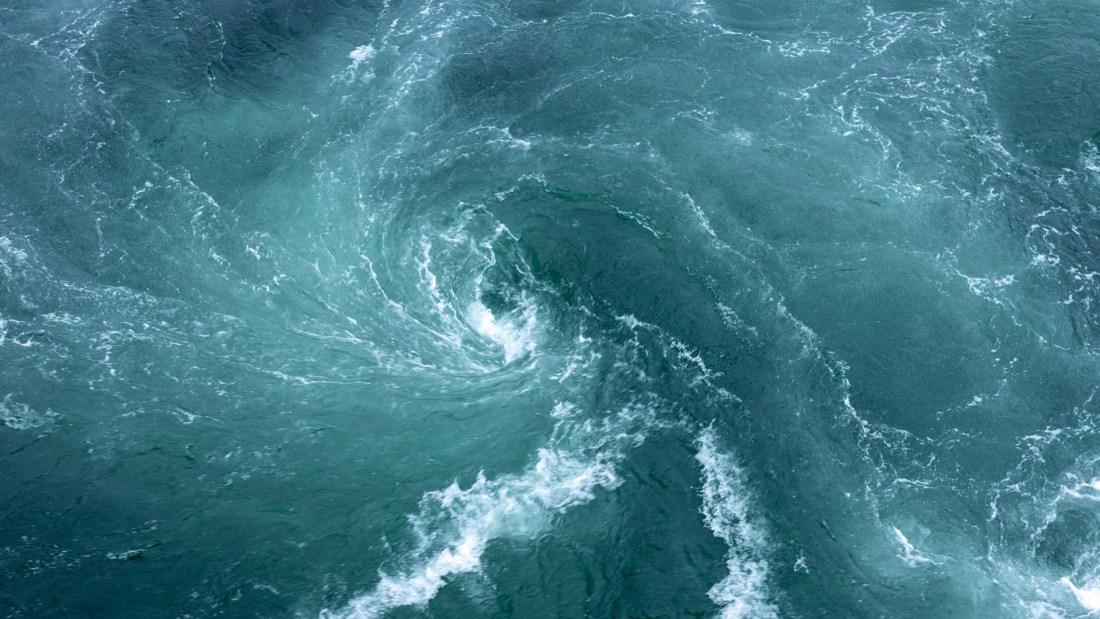 Wasserstrudel Strömung