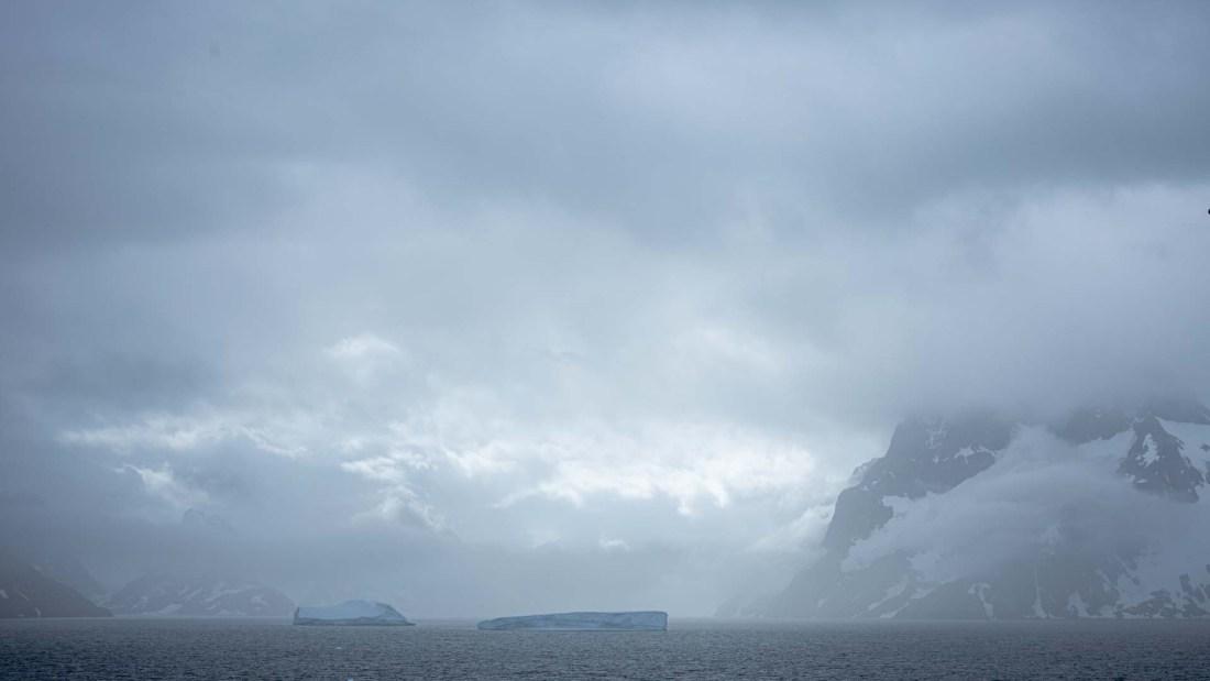 Eisberge, Larsen Harbour, Südgeorgien