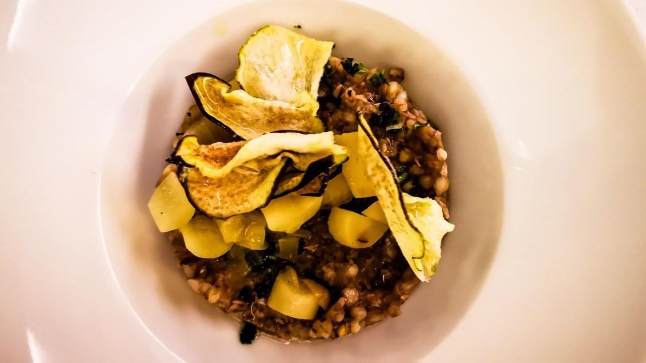 Französische Küche undSpeisen auf der Le Soleal