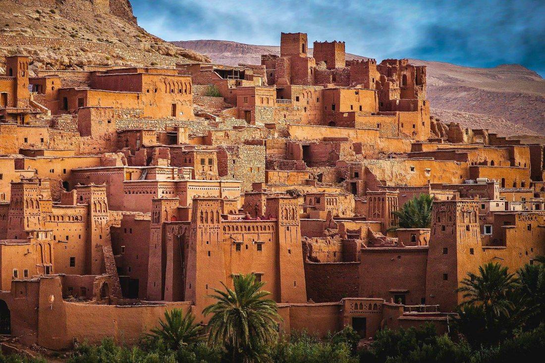 Marokko: Ideal für Wüsten-Sets für Filme und Serien
