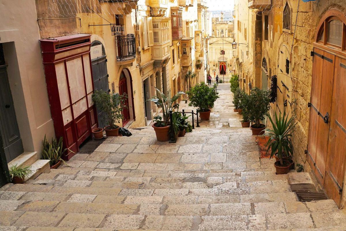 Straßen von Valletta oder die Gassen von Königsmund