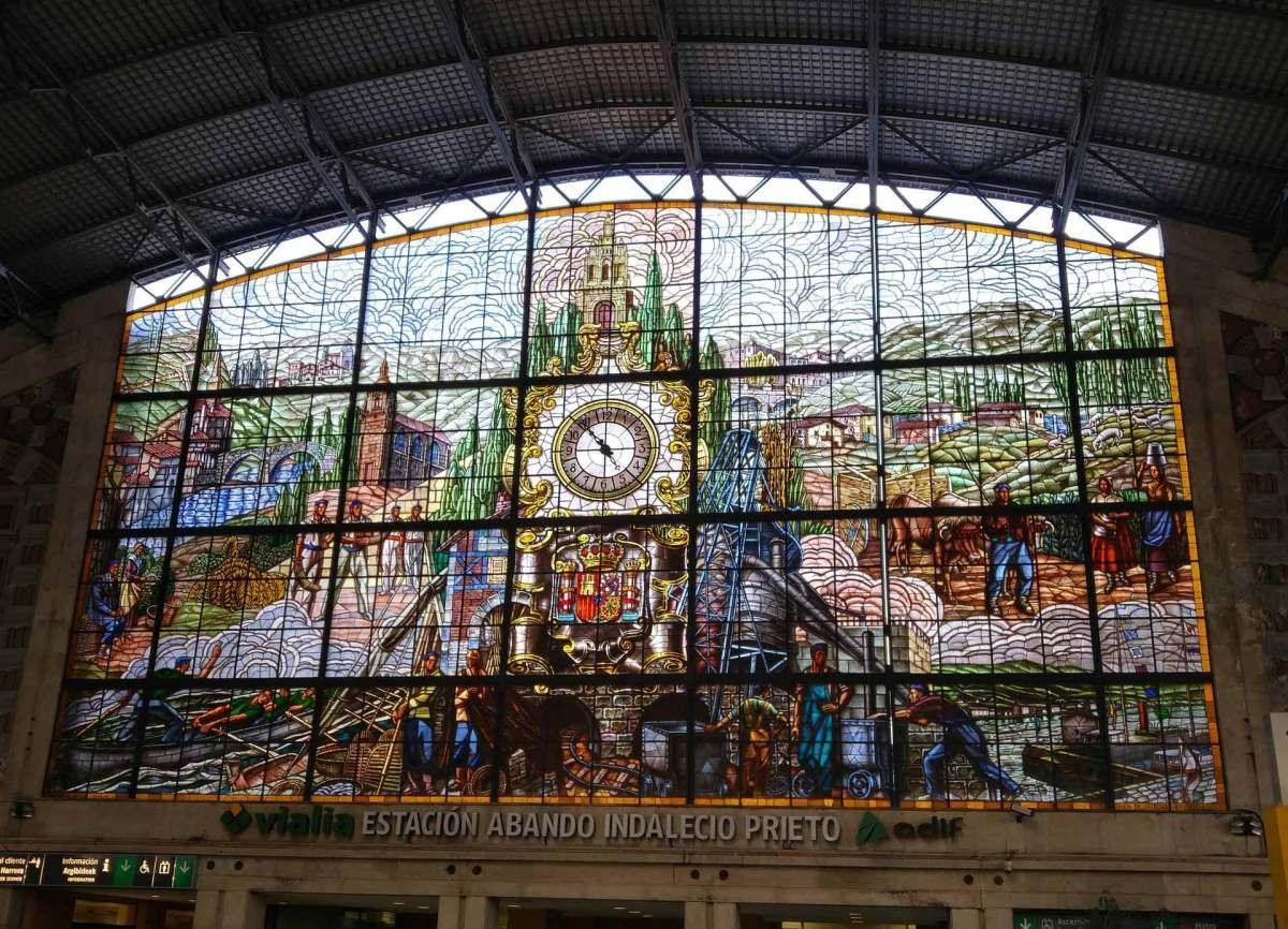 Bahnhof Spanien