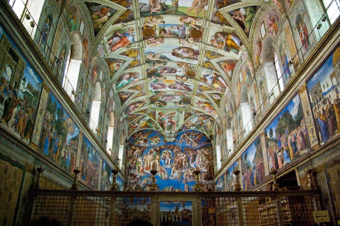 Innenraum Sixtinische Kapelle