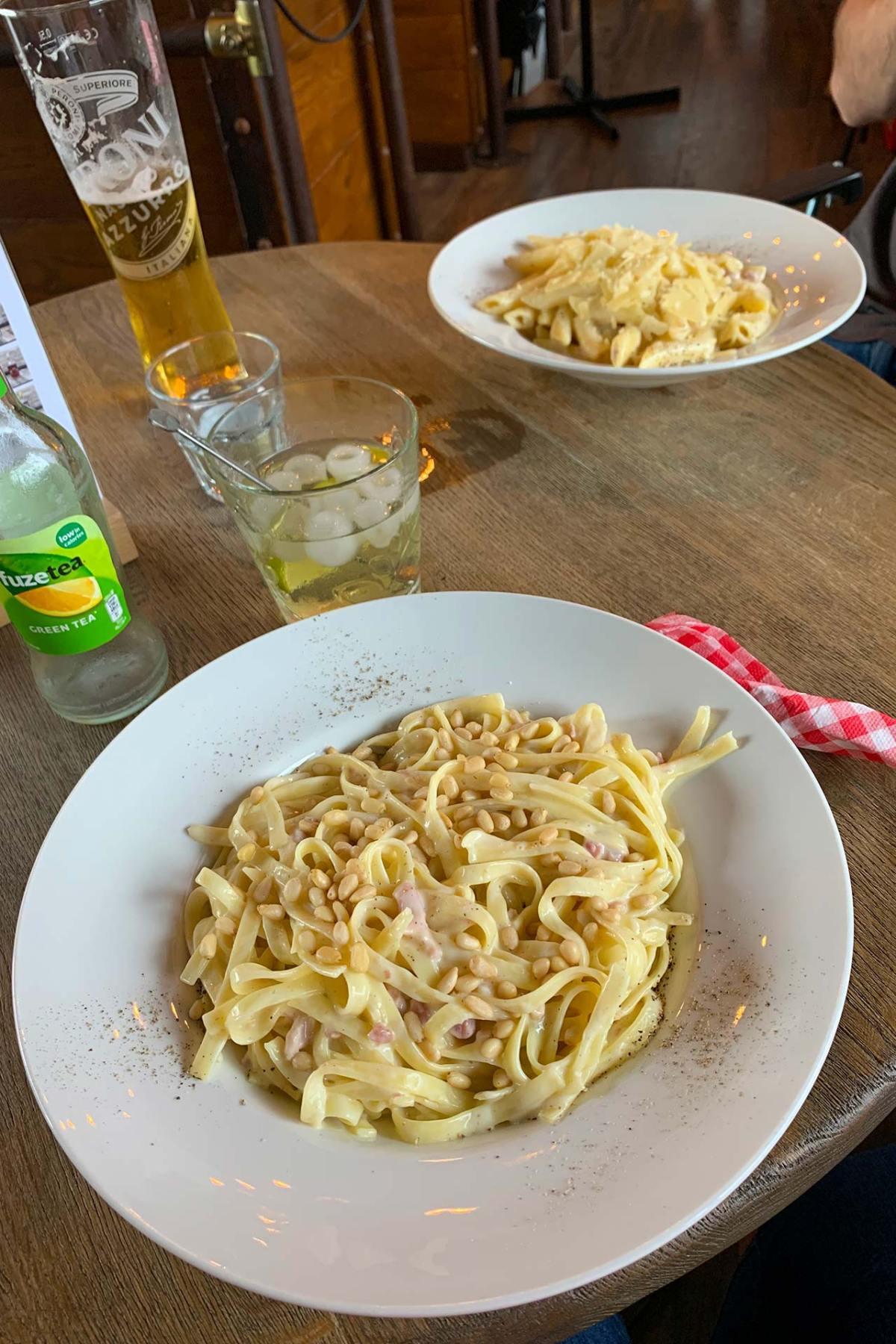 PastaBar Sicily - Cabonara