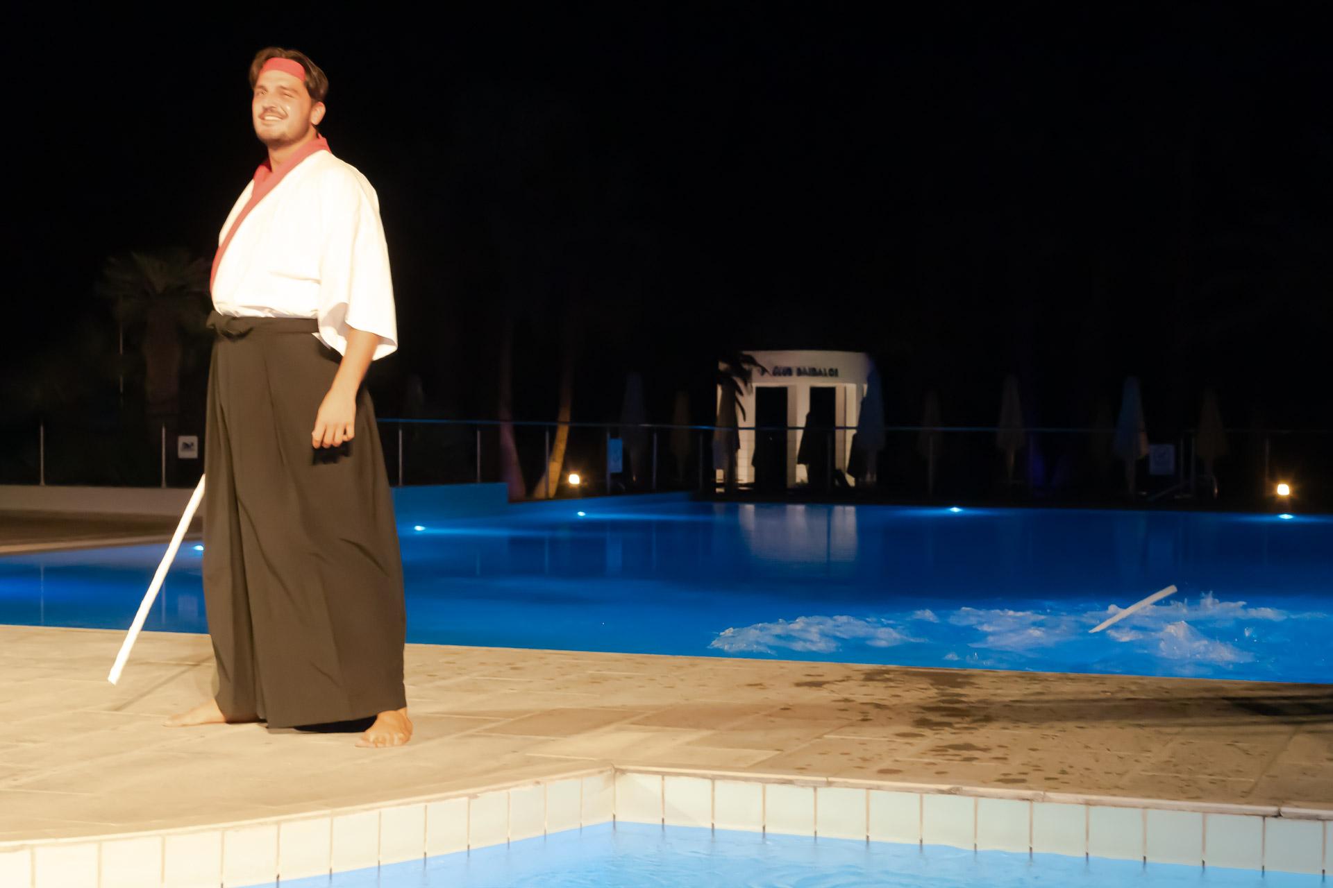 ROBINSON Club Daidalos, Unterhaltungsshows Main Pool