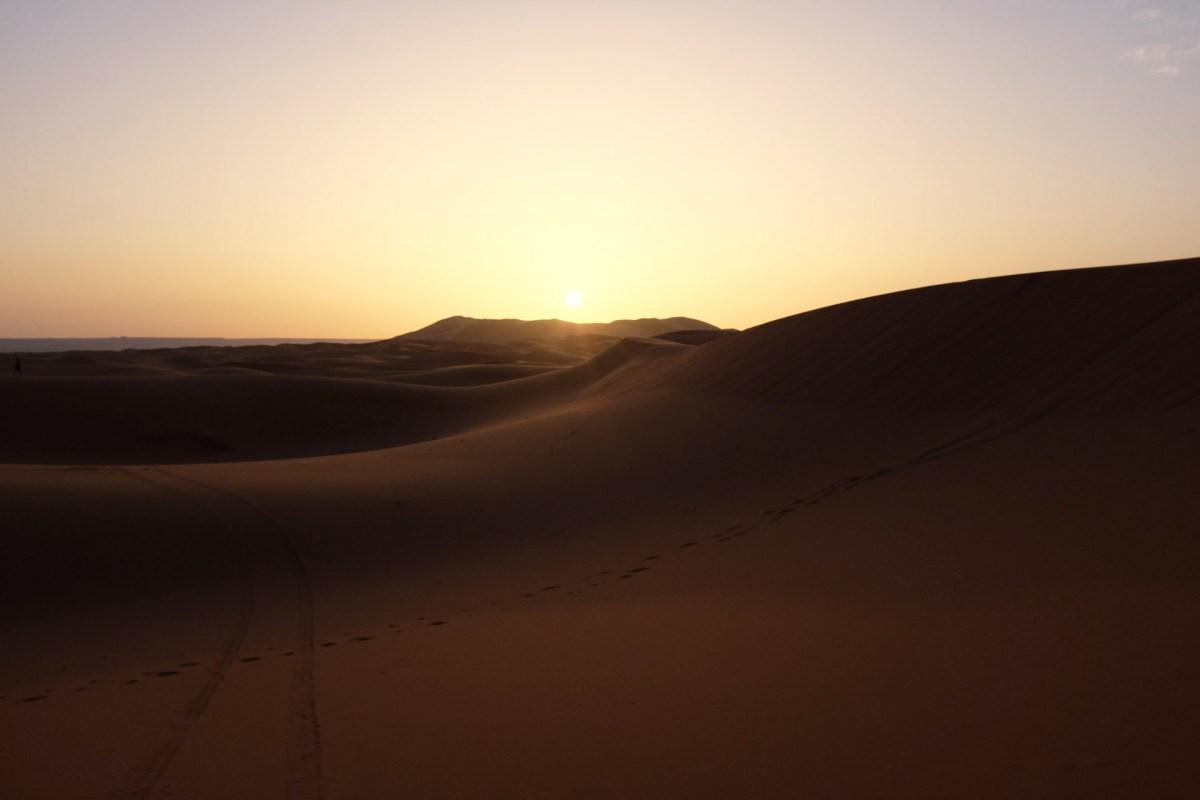 Wüste bei Erfoud