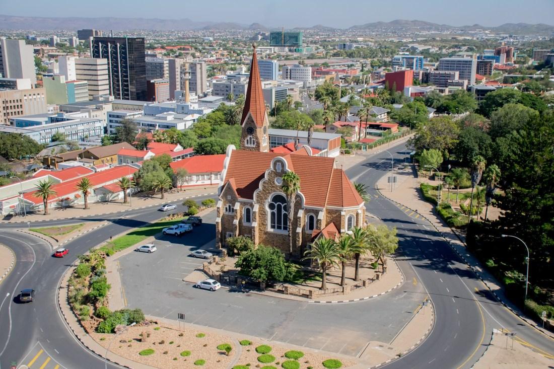 Hauptstadt von Namibia - Windhoek