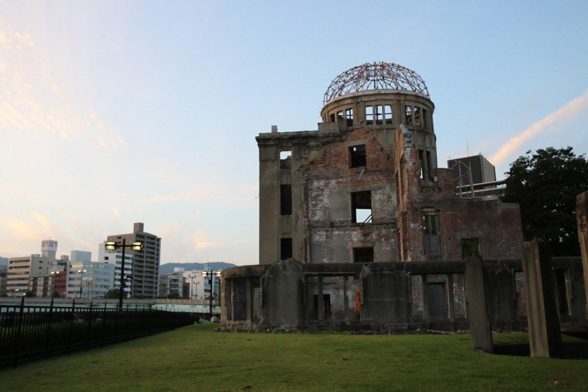 Der Peace Memorial Park in Hiroshima