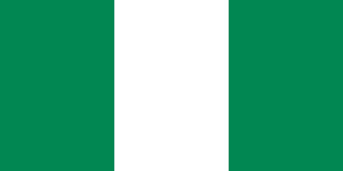 Nigerias Nationalflagge
