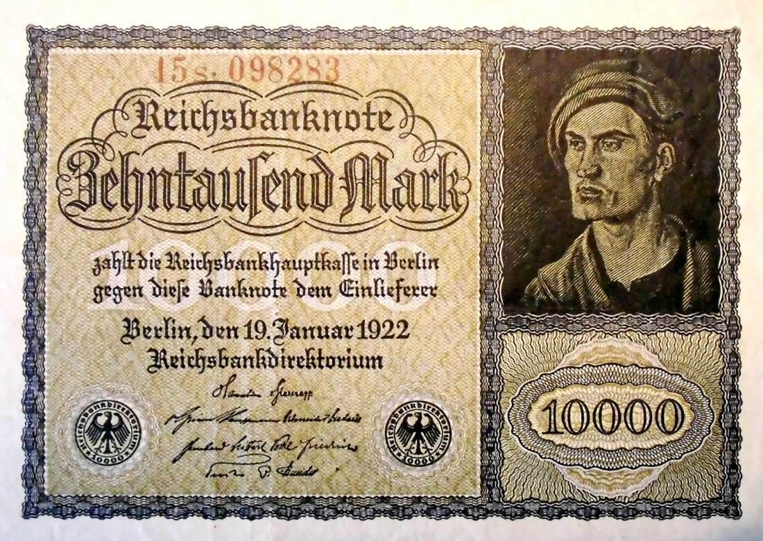 10.000 Mark Hyperinflation