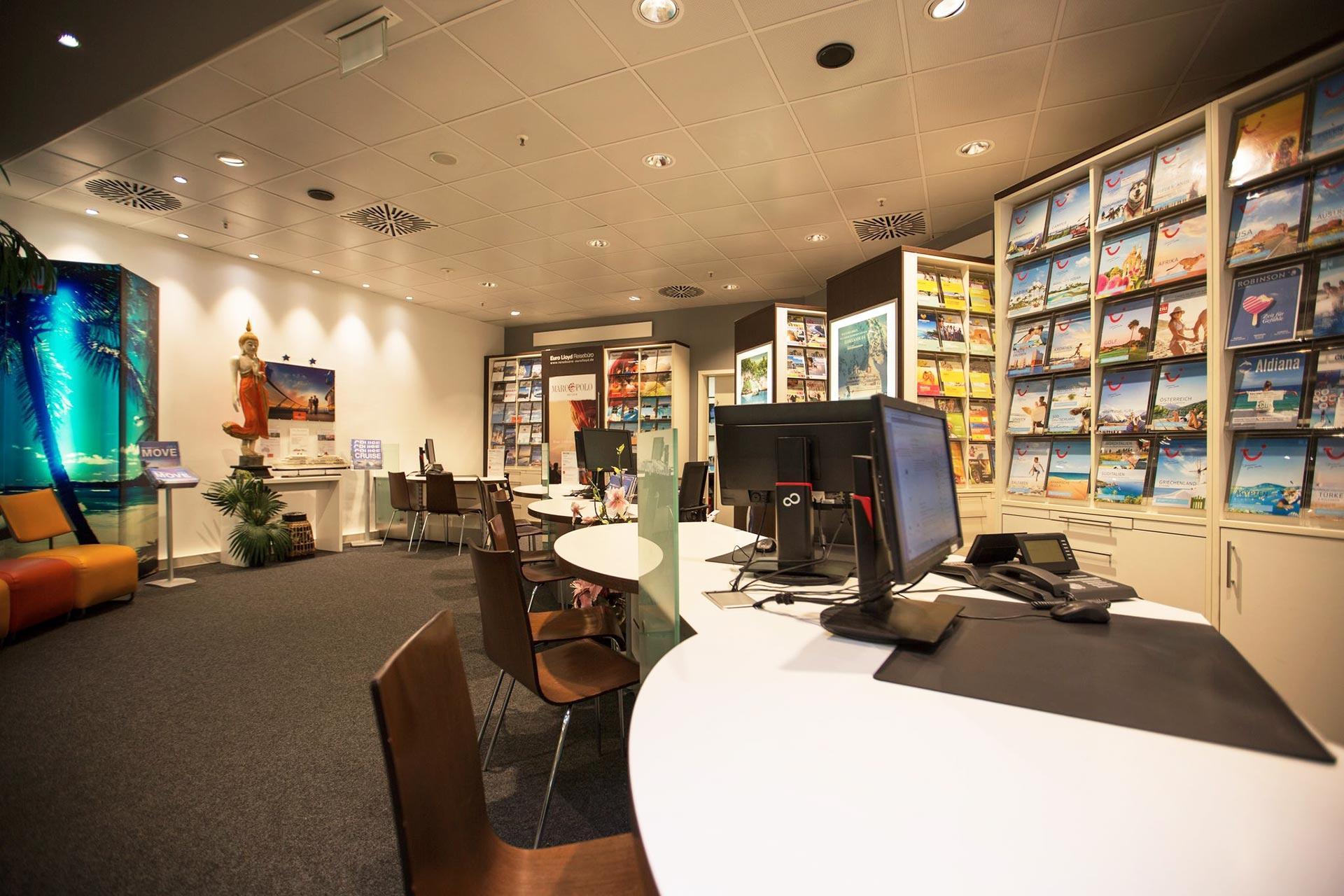 Die Euro Lloyd Reisebüros in Stuttgart, Ludwigsburg und Sindelfingen