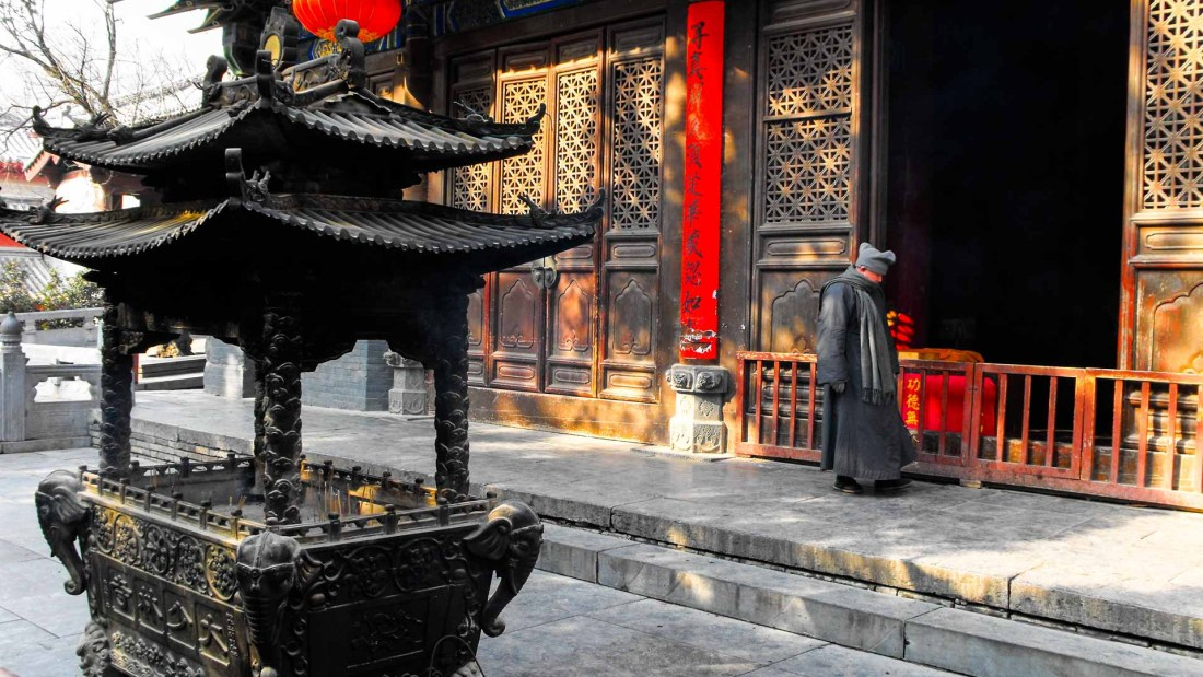 Shaolin Kloster, Henan, China