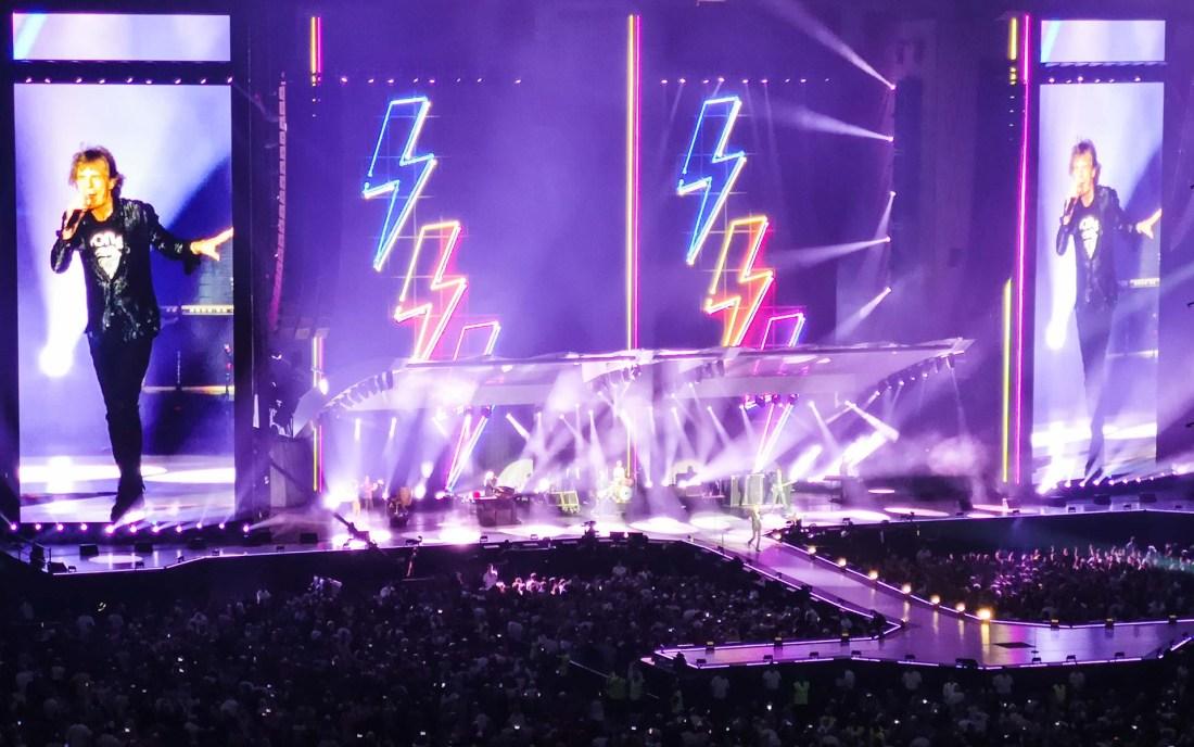 Rolling Stones live in Stuttgart, Germany (2018)