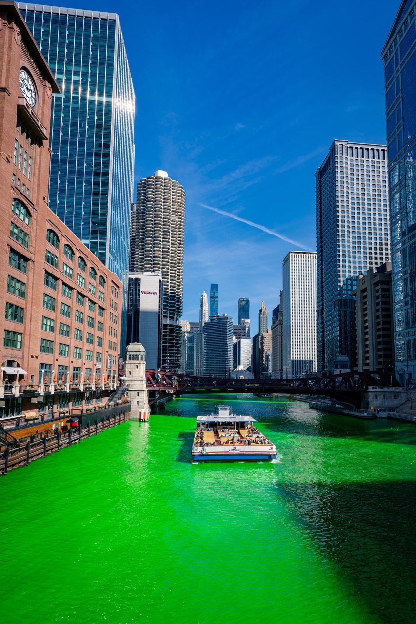 Chicago am St. Patrick's Day