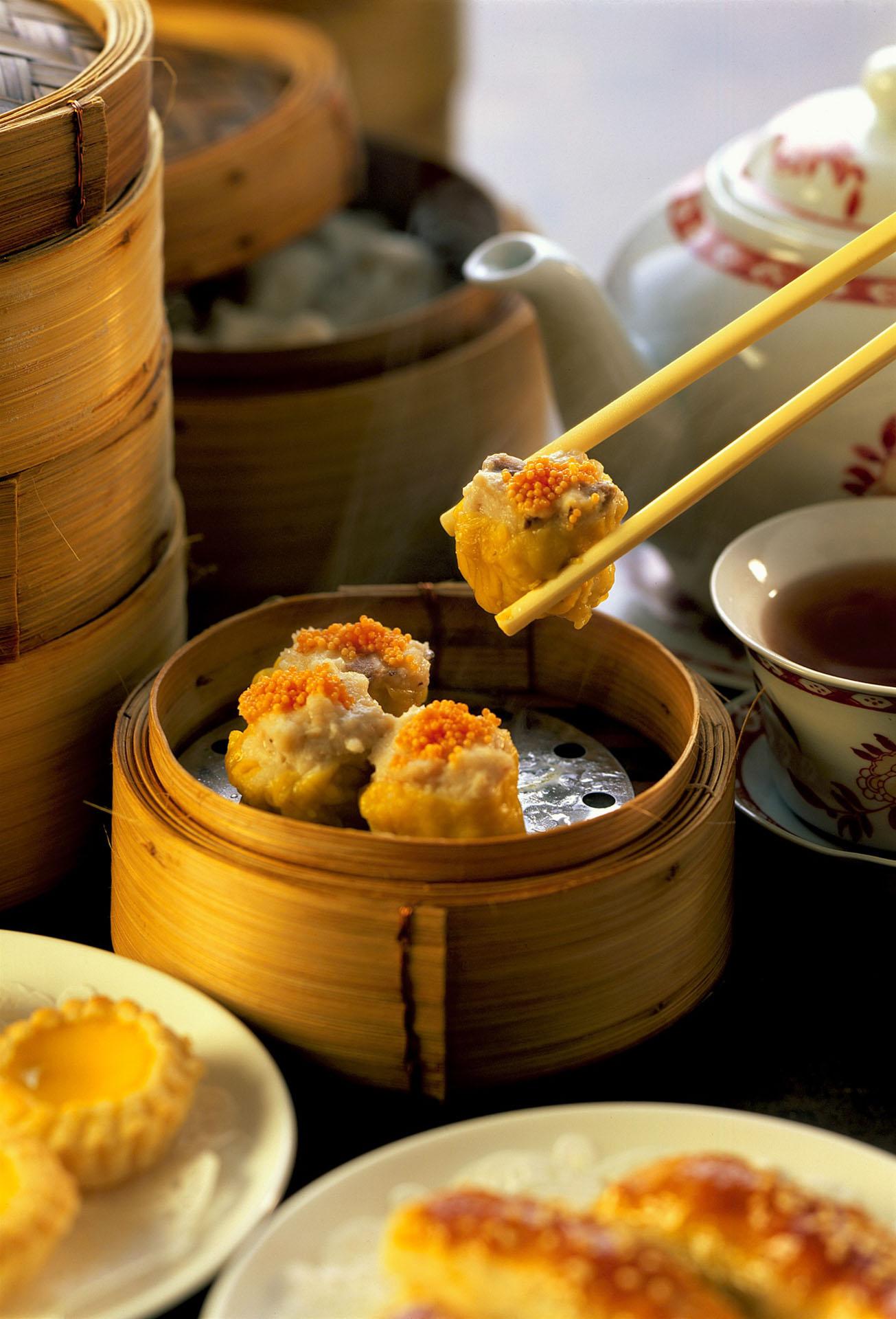 Hongkong Dim Sum Street Food