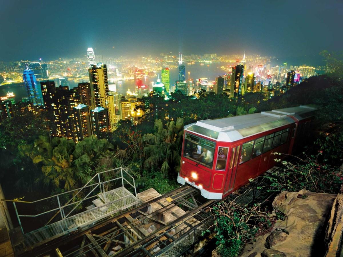 Hongkong Peak Tram