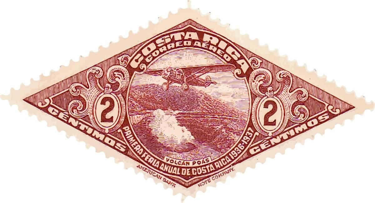 Airmail Costa Rica
