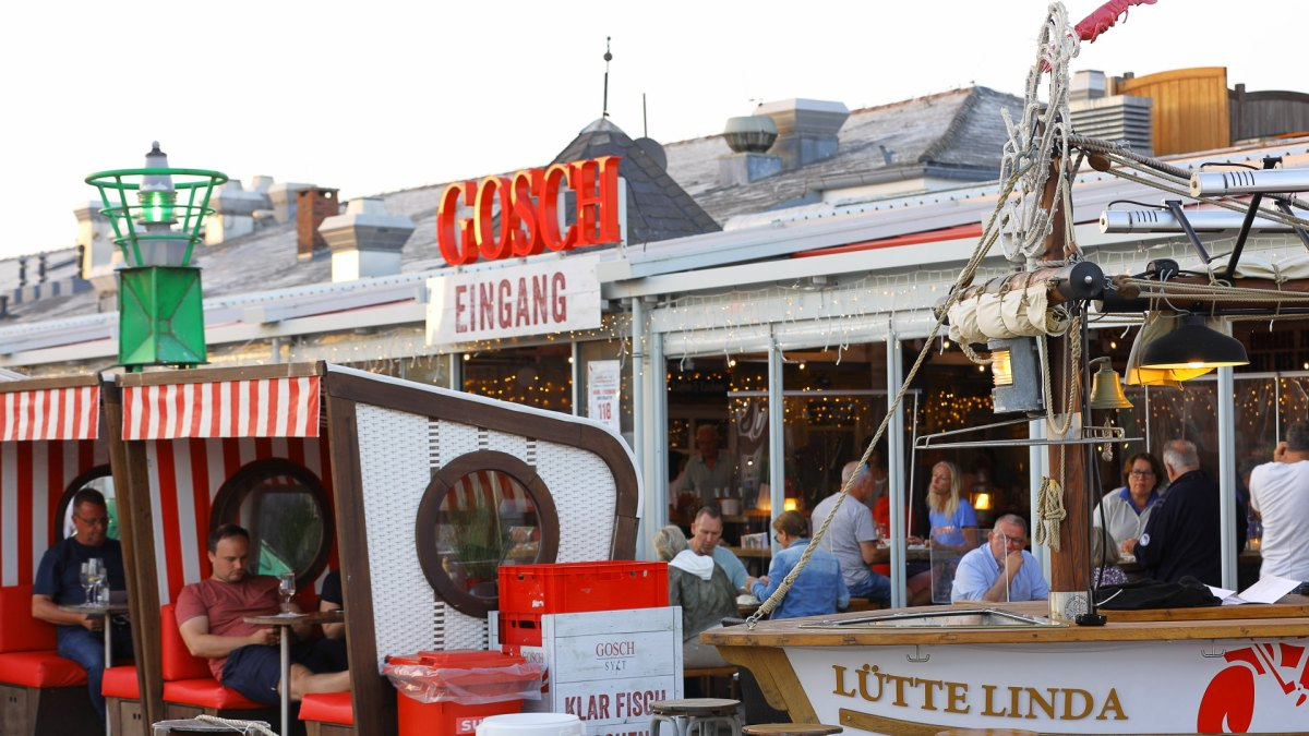 Gosch Restaurant, List Hafen
