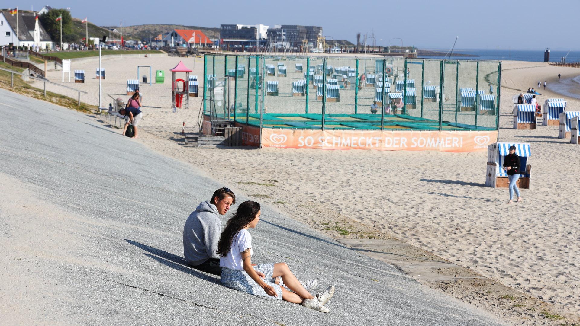 Hörnum, Strandpromenade