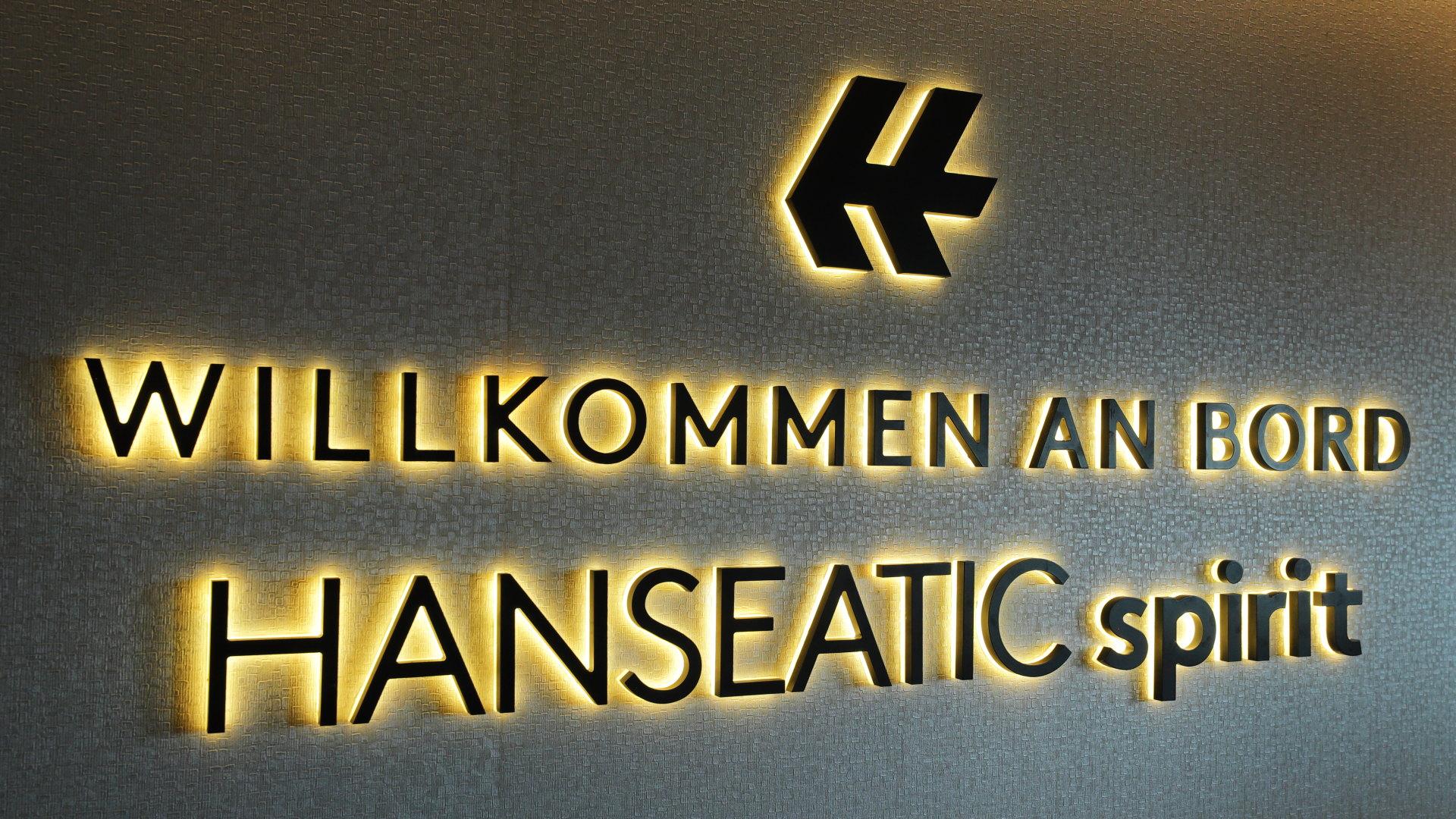 Willkommen an Bord der Hanseatic spirit