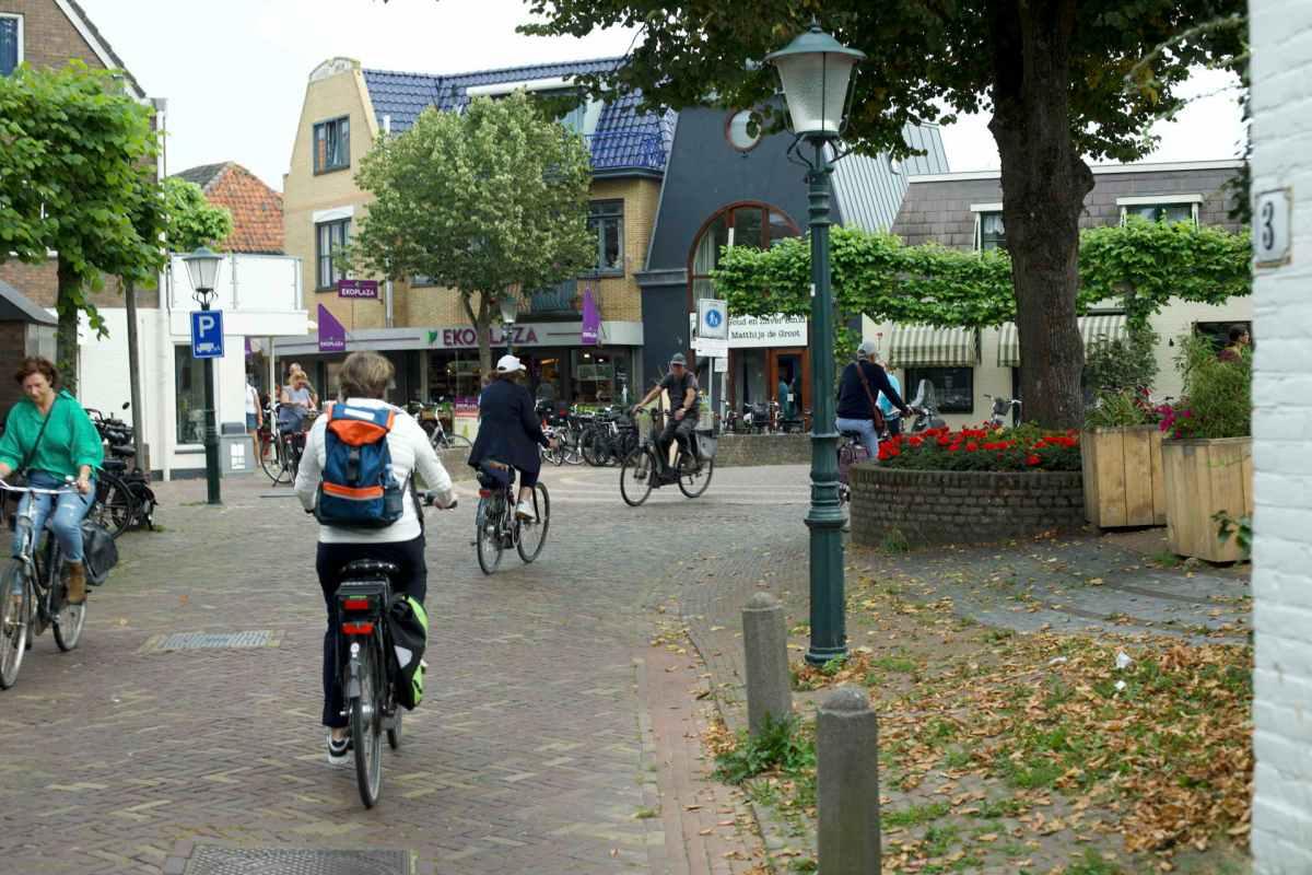 Texel, Den Burg, Fahradausflug