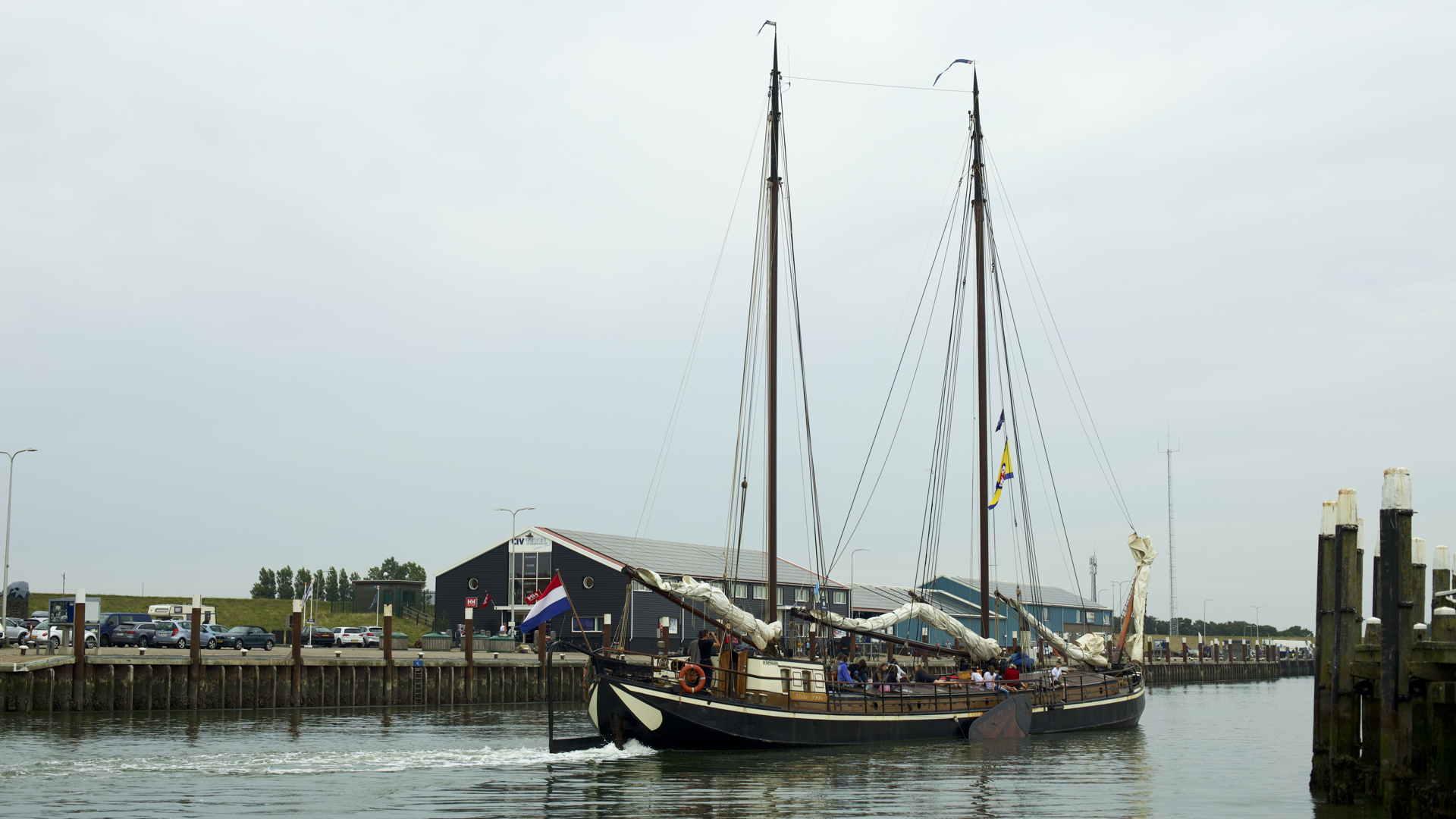 Hafeneinfahrt Texel