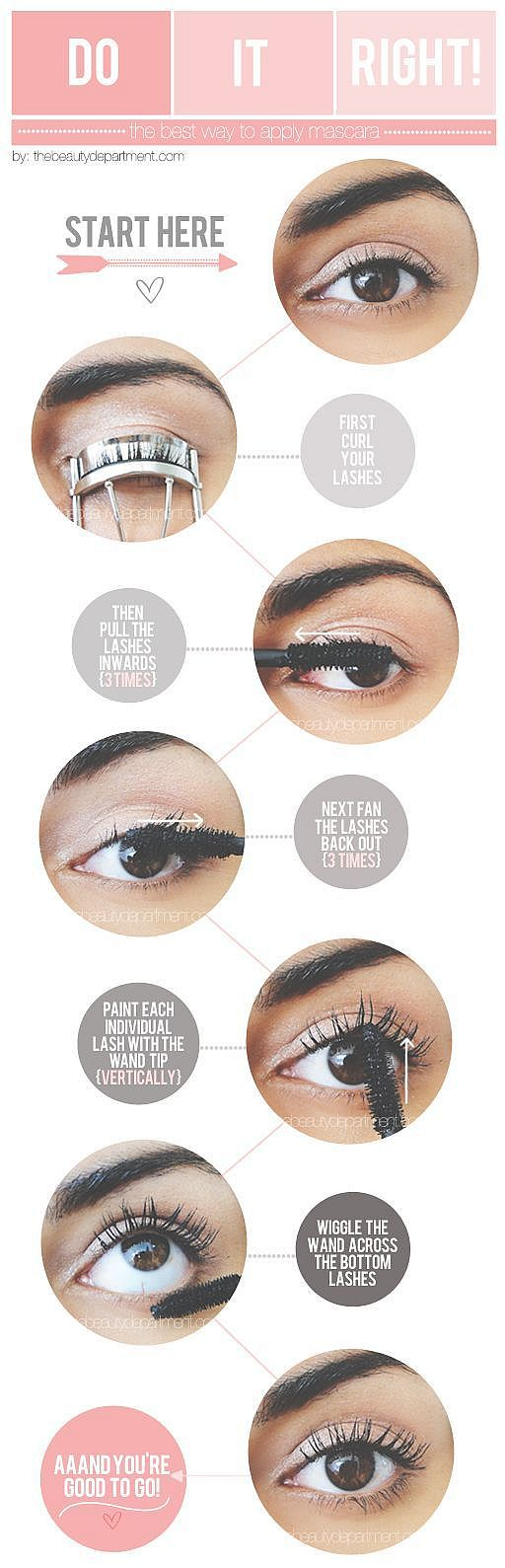 How To Apply Mascara Perfectly Mascara Tips For Beginners