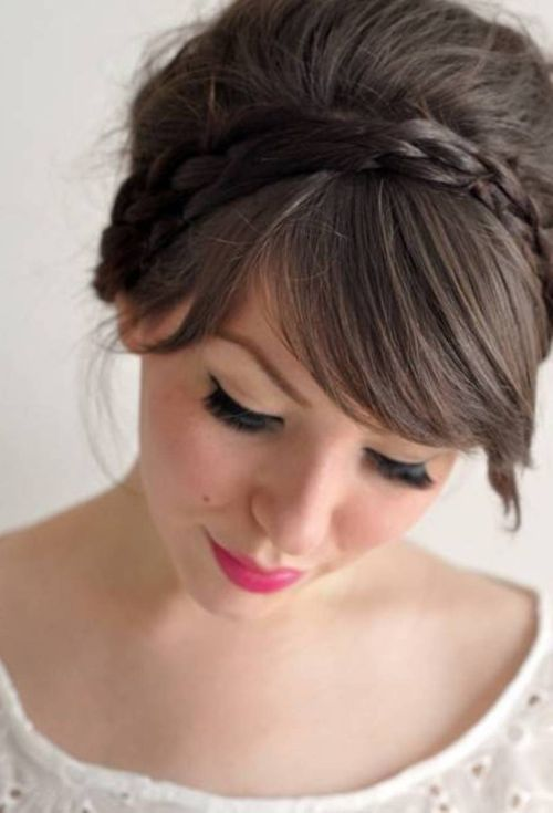 54 Cute Amp Easy Updos For Long Hair When Youre In Hurry