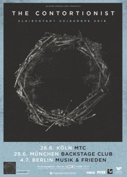 Tour-Präsentation - The Contortionist Europe/UK 2018