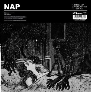 "Black Lung versus NAP - Split Ltd. Ed. 12"" LP"